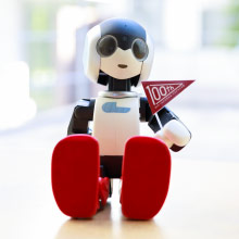 ロボットと立命館100周年