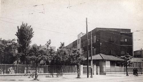 昭和20年代の北大路学舎