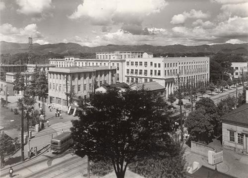 1950年代前半の広小路学舎